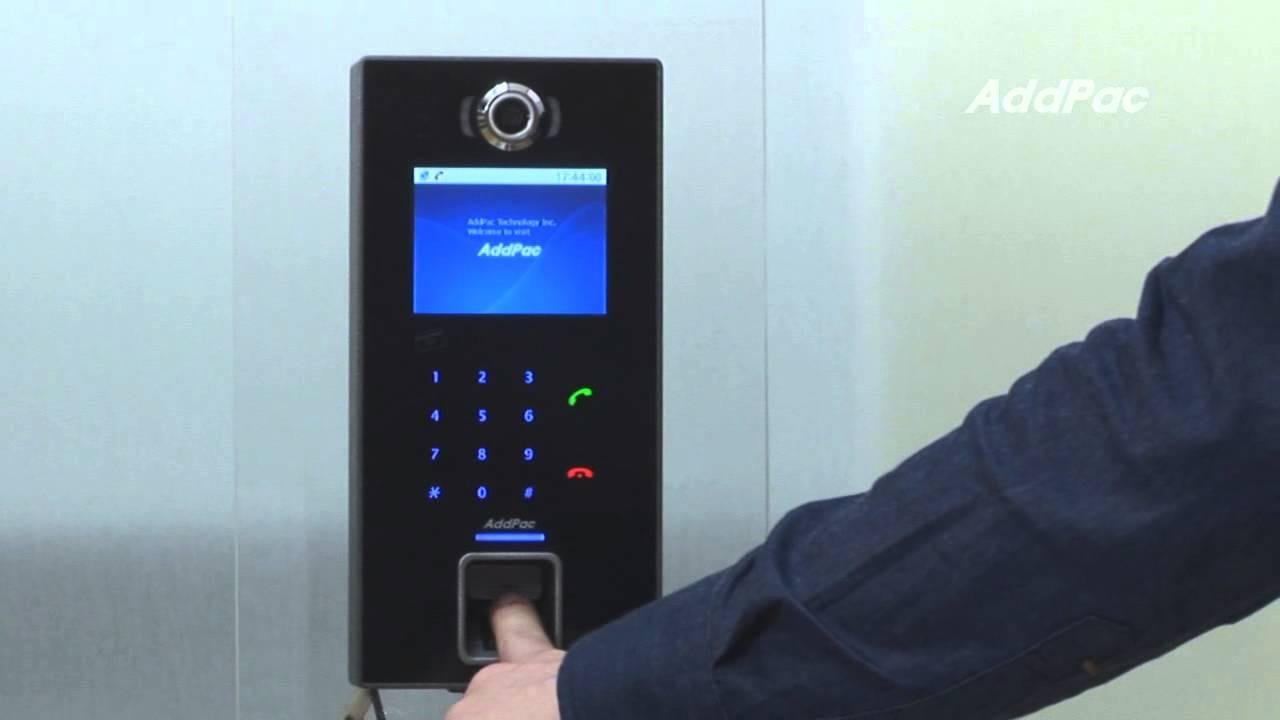 Fingerprint Recognition Ip Video Door Phone Ap Vac200