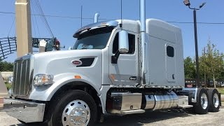 The All New 2016 Peterbilt 567 w/ 550 Cummins Platinum Interior Owner Operator Specs