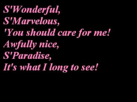Julie London~S'Wonderful lyrics