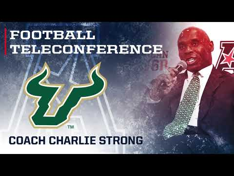 2017 Football Teleconference Week 4 - USF Head Coach Charlie Strong