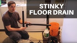 How to Fix a Stinky Floor Drain: Eliminating Sewer Gases From Entering Your Home