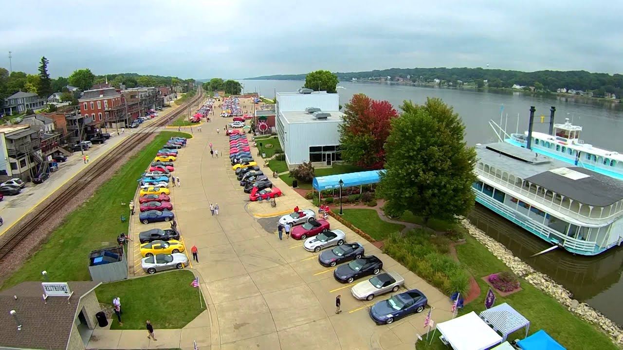 Vettes on The River Event in LeClaire, IA on August 6th, 6