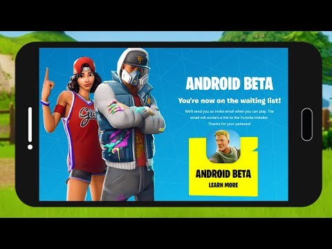 HOW TO DOWNLOAD FORTNITE ON ANDROID??! Fortnite Android Beta