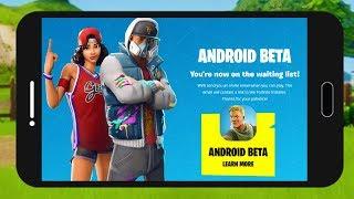 COMMENT TÉLÉCHARGER FORTNITE SUR ANDROID??! Bêta Android Denite