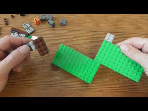 Building Lego Minecraft The Iron Golem SET 21123