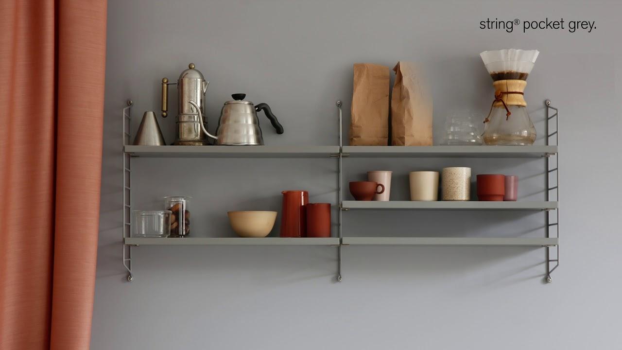 String Pocket Grey Classic Design Youtube