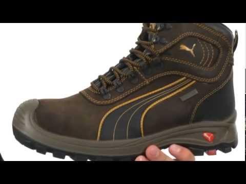 addfdff365a2 PUMA Safety Sierra Nevada Mid WP EH Sneaker Shoe - YouTube