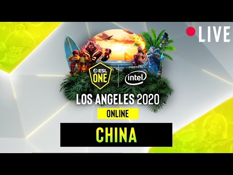 LIVE: Ehome Vs. RNG - ESL One Los Angeles - Playoffs - China