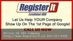 Best Toronto SEO Company Milton ON - 905-257-8698