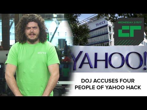 DOJ Accuses Four People of 2014 Yahoo Hack | Crunch Report
