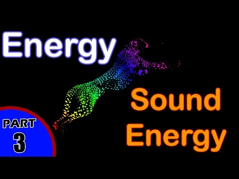 Sound Energy in Physics | Examples of Sound Energy | Energy Transfer in Physics