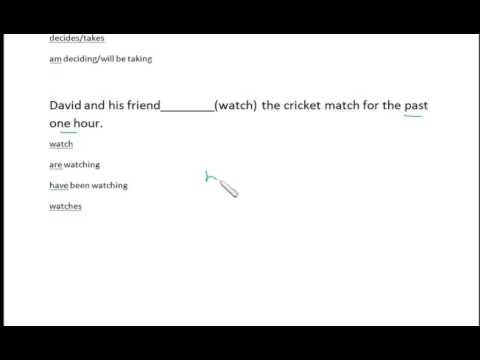 Fill in the blanks(Tenses) English | IBPS/Bank/PO/Clerk | VIdeo Lectures in  English And Hindi