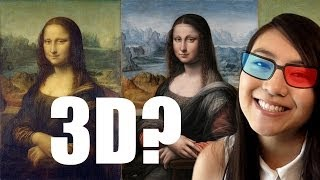 Mona Lisa may be First 3D Image! Stereoscopy