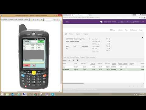 SBO4 PDA a certified WMS for MYOB Advanced