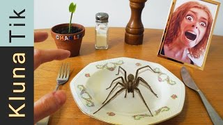 Eating a SPIDER!! Kluna Tik Dinner #43