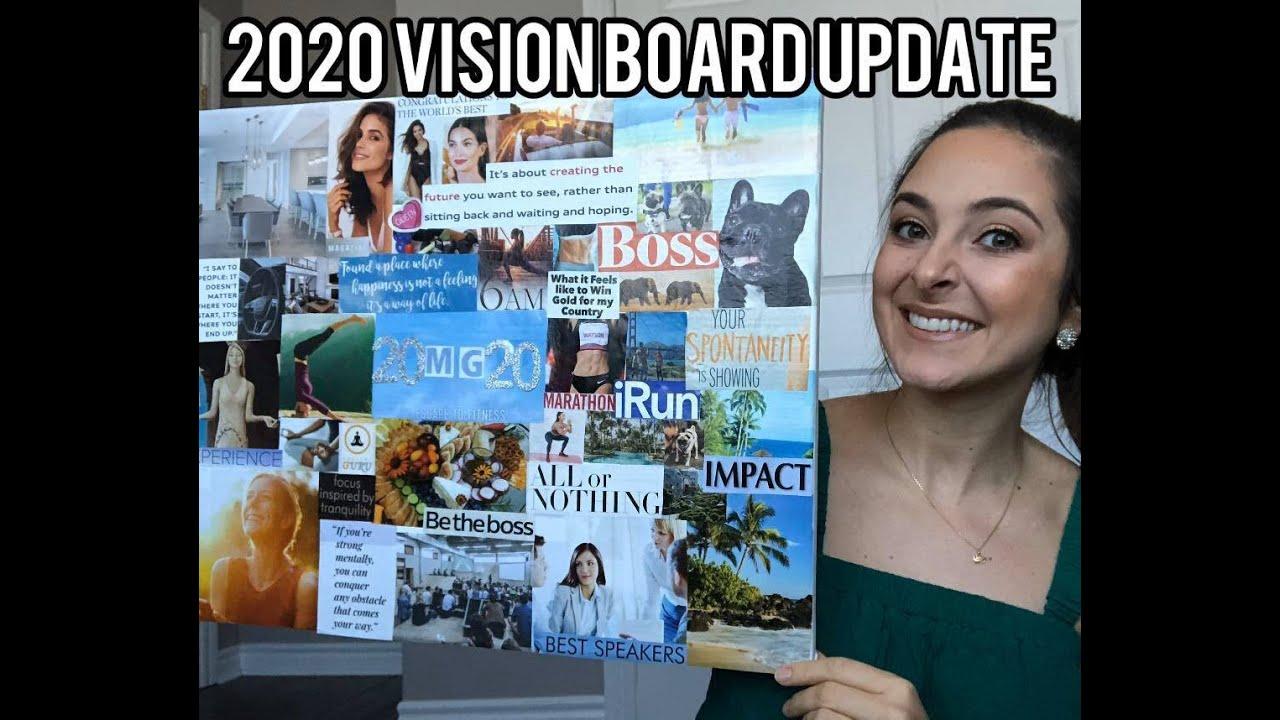 2020 Vision Board Update