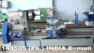 HEAVY DUTY LATHE MACHINE 10 FEET (OM BRAND) OM INTERNATIONAL MACHINE TOOLS