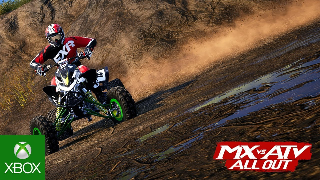mx vs atv all out first gameplay trailer youtube. Black Bedroom Furniture Sets. Home Design Ideas