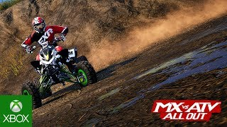MX vs ATV All Out First Gameplay Trailer
