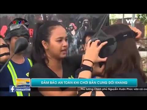 Archery Tag Vietnam on VTV9