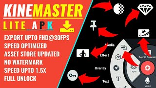 Kinemaster lite | Latest Version 2019 |「By tech doctor」