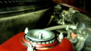Лада Приора. Замена передней стойки, пружины и опорного подшипника. |  Garage for boys