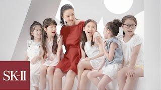 탕웨이가 말하는 그녀의 어릴적 꿈   sk ii korea