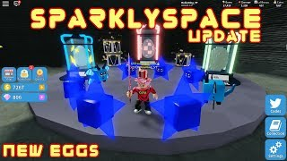 Roblox Unboxing Simulator | New Update Sparkly Space + new pets | RobinKing