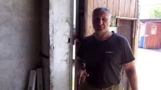 видео Как укрепить ворота гаража?
