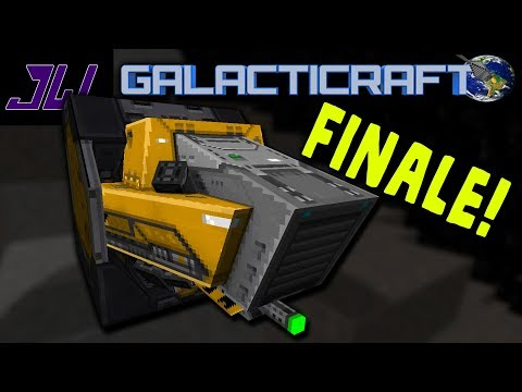 WE HAVE THE ASTRO MINER - FINALE! | Minecraft Galacticraft Mod Gameplay | Episode 22