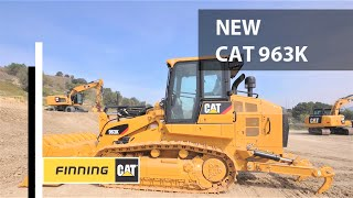 Cat® 963K Track Loader - In Action