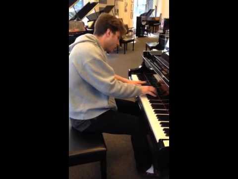 2016 Clair de lune in piano store