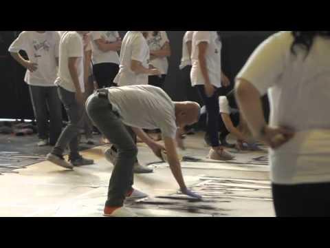PROA TV   Cai Guo-Qiang: Impromptu   Backstage producción dibujos con pólvora