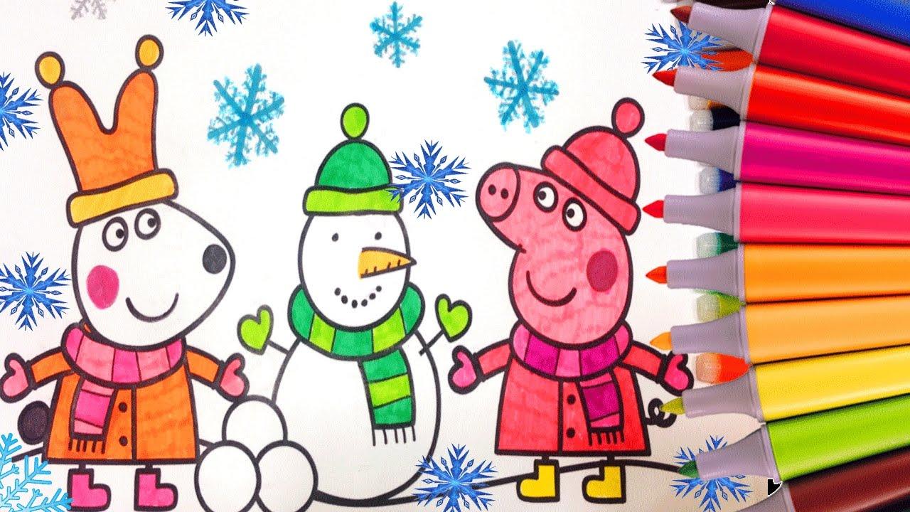 Peppa Pig Rebecca Rabbit Christmas