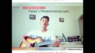 Pamela One Hugot Version Clip By John Gamba #FilipinoVinerRock