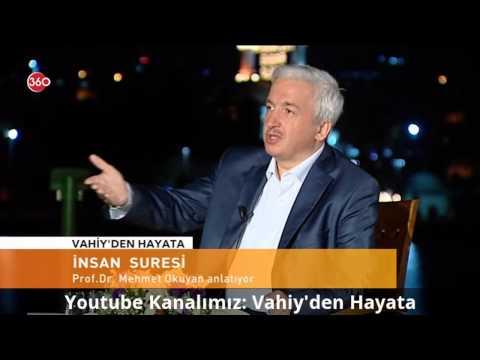İnsan Suresi'nin Kısa Bir Tefsiri - Prof. Dr. Mehmet Okuyan   HD