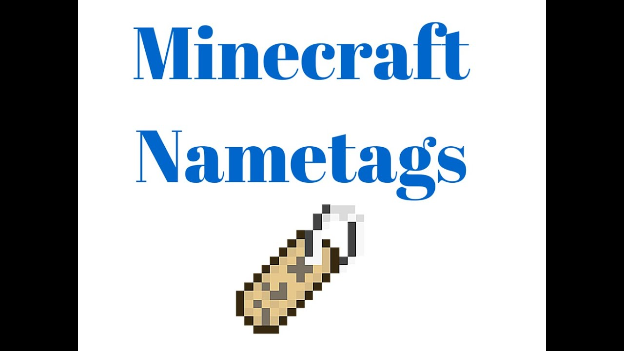 Minecraft Name Tag Crafting Recipe