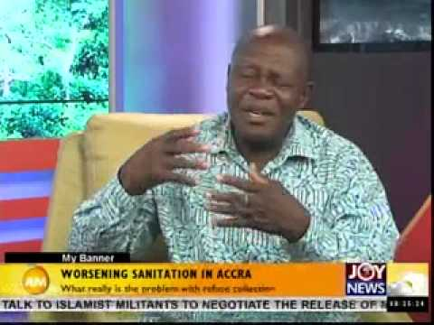 Worsening Sanitation in Accra on Joy news (14-5-14)