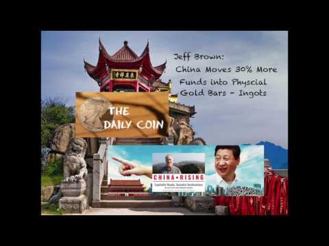 Jeff Brown: China Moves 30% More Funds into Physical Gold Bars - Ingots