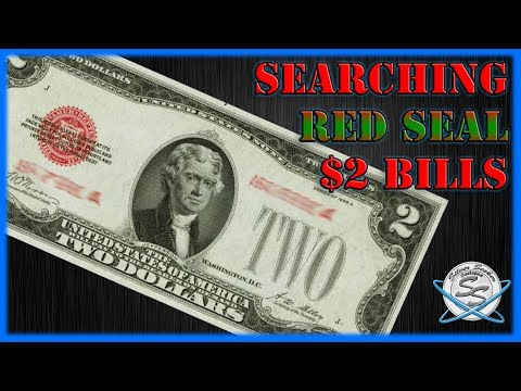 Currency Search! 100 Red Seal $2 Bills For Star Notes And More!