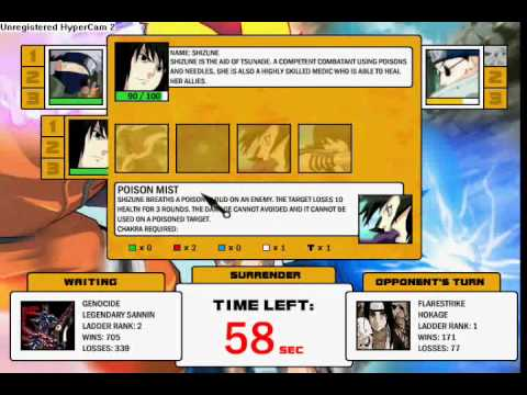 Naruto-Arena Hokage Fight
