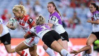 NRLW Highlights: St George-Illawarra Dragons v Warriors - Round 2
