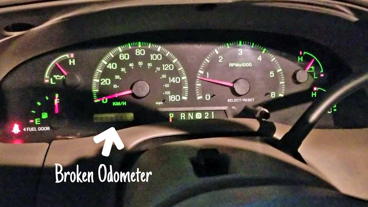 small resolution of 2 9 19 my junk car broken odometer 2000 ford expedition xlt 4 4 v8 5 4l japan spec gassubwild