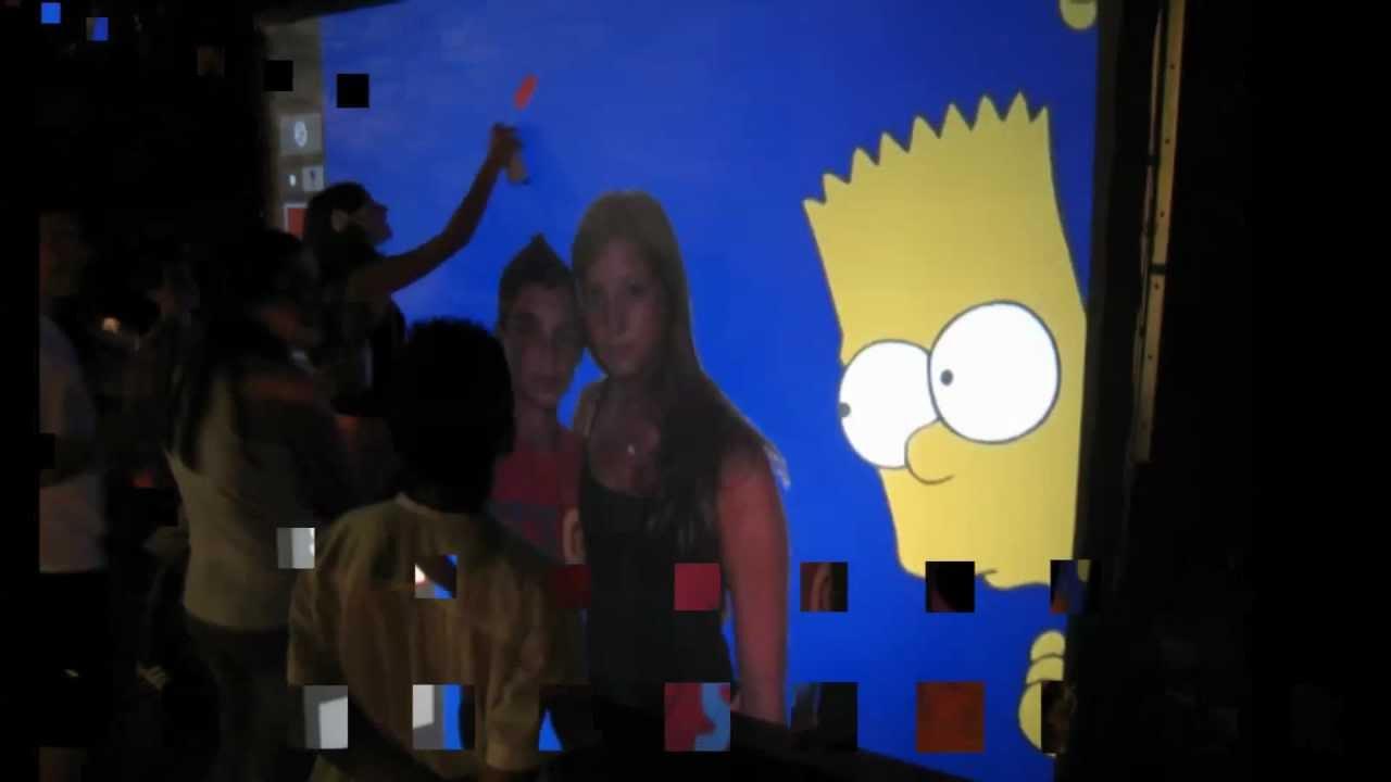 Digital wall graffiti - Air Graffiti Digital Wall Bar Mitzvah