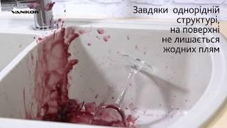Гранитные кухонные мойки Vankor - обзор и краш тест! (santehimport.ua)