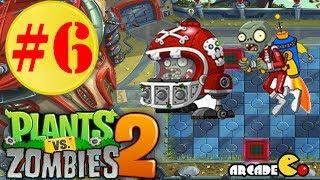 Plants vs. Zombies 2: Far Future Final Boss A Step Away Walkthrough