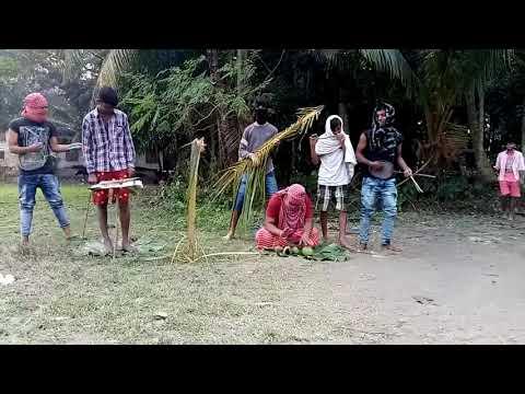 Gaja kheye hu hu Kore go Bhola Baba funny video