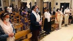Baptême d'adultes le 6 juin 2020 à Enghien