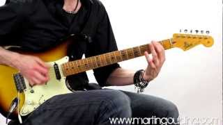 Brian May Style Riff by Martin Goulding