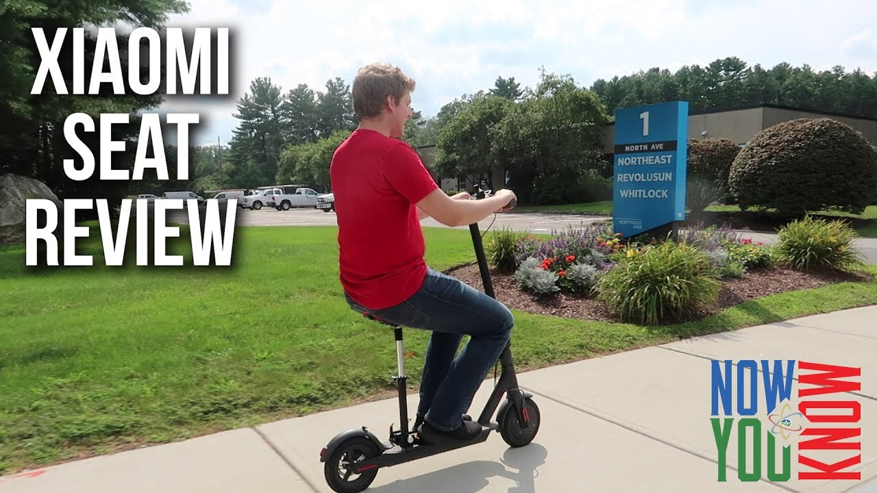 Xiaomi Electric Scooter Seat Review